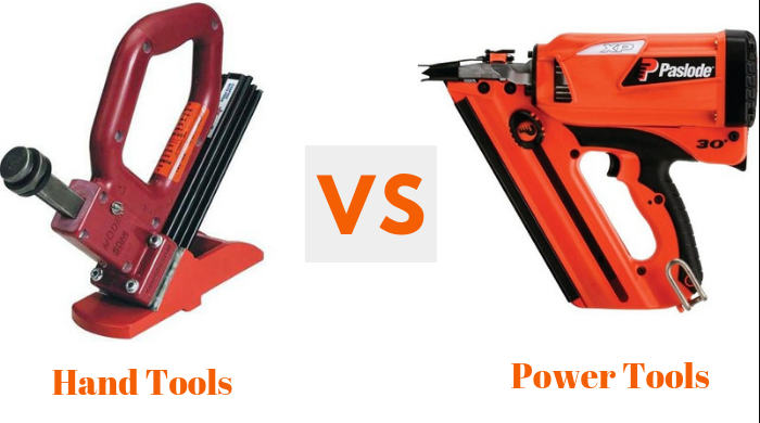 Hand Tools vs Power Tools